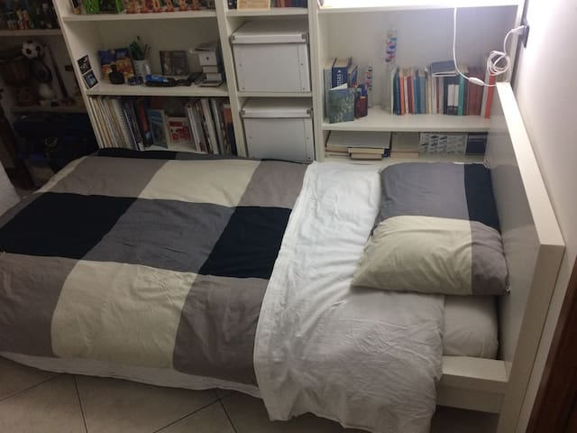 Clean and comfortable private rooms in Bari