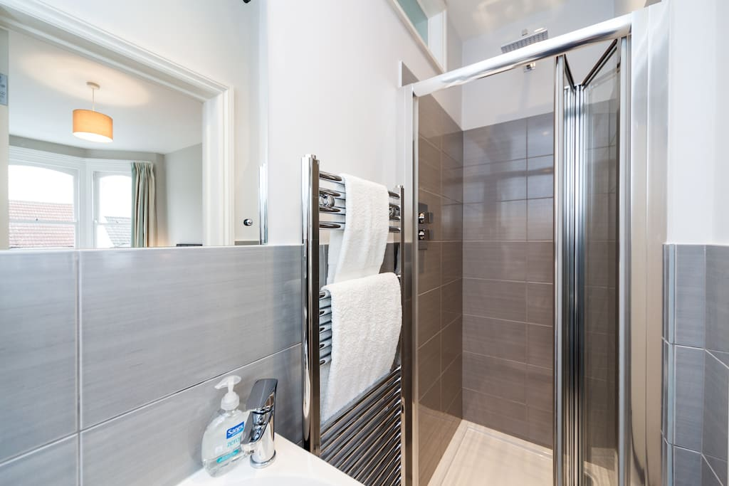 Your own ensuite shower.