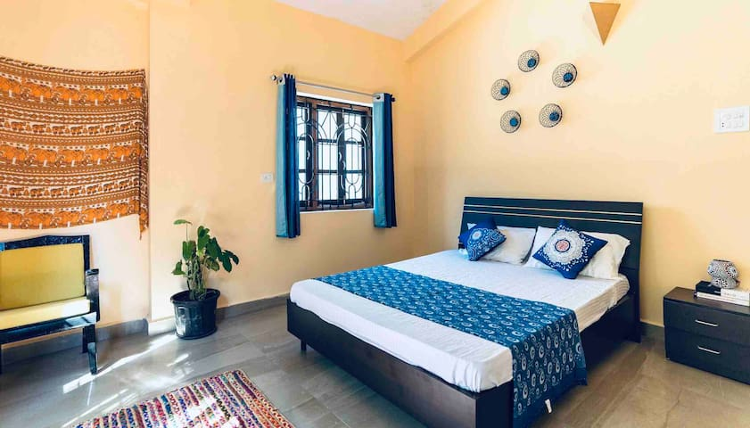 Bali - 1BHK with Balinese Charm and Goan heart