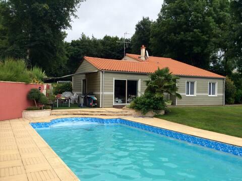 Privat indkvartering på landet 30min fra Puy du Fou