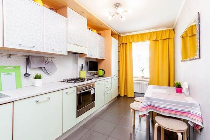 1-room Nice apartment at Taganskay metro