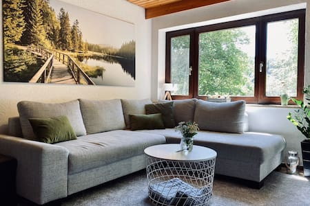 Fichtelgebirgs-Apartment: Modern trifft Natur pur