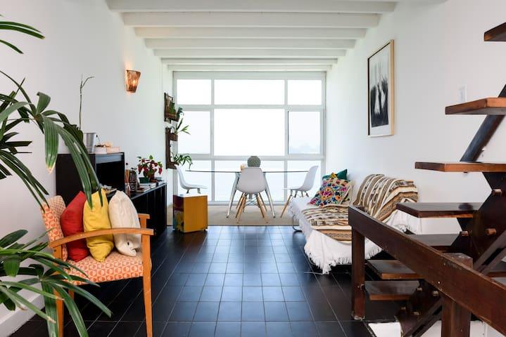 Andar inteiro, suíte com a vista maravilhosa! - Rio de Janeiro - Apartment