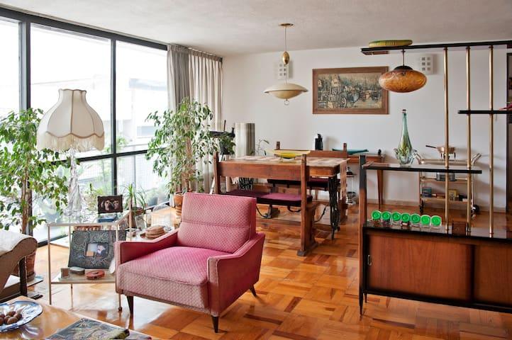 Acogedor cuarto en la Condesa - Ciudad de México - Apartment