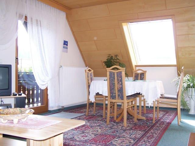 Gästehaus Brigitte Schoch, (Bad Rippoldsau-Schapbach), Ferienwohnung, 50qm, 1 Schlafzimmer, 1 Wohn-Schlafraum, max. 4 Personen