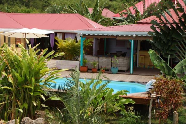 La Maison Créole,  piscine, 3 chambres.