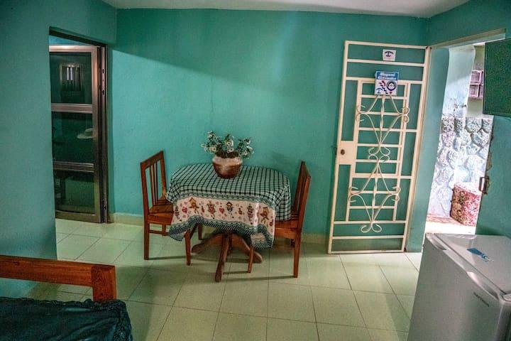 Casa Dayami de Cervantes apto verde