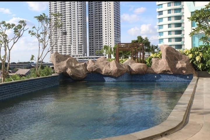Nice View Studio (1BR) @Grand Kamala Lagoon