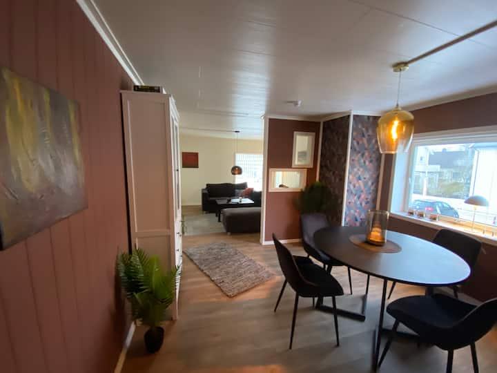 Moderne, flott og sentrumsnær leilighet i bodø