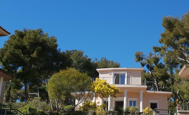 Magnifique villa vue mer unique à la location