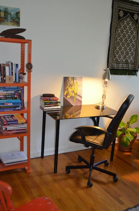 Cozy desk
