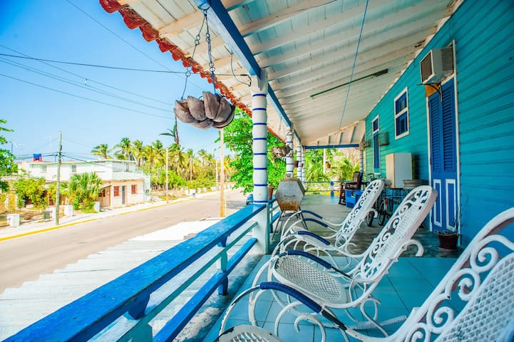 **Coveted Balcony in front of the Varadero Beach**