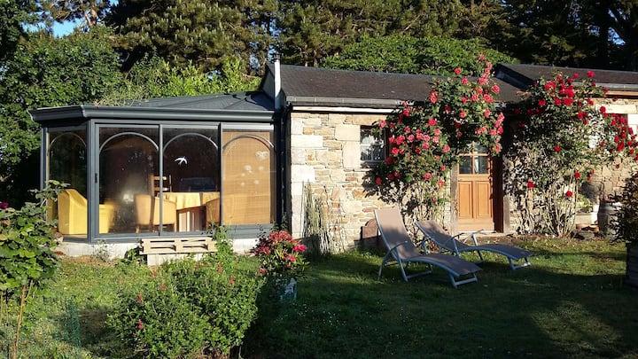 Chambre, Jacuzzi, Table d'hôtes sur réservation