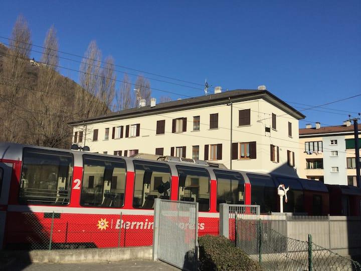 casa del treno rosso