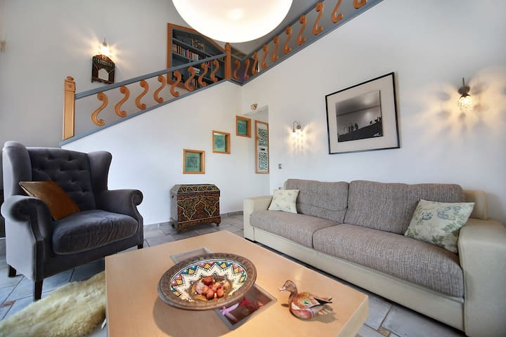 1-bedroom Niki Maisonette, with private pool - Perivolia - Byt