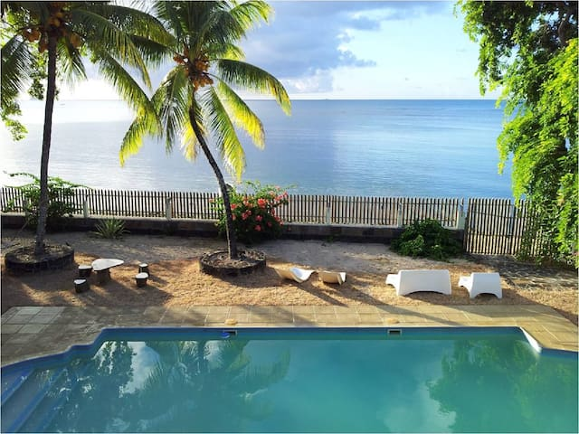 BEACHFRONT 2 BEDROOM VILLA - Port Louis - Villa