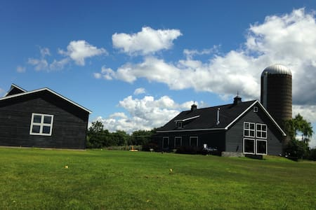 The Barn at Nutten Hook, Stuyvesant, NY.  (Hudson) - Stuyvesant - Haus