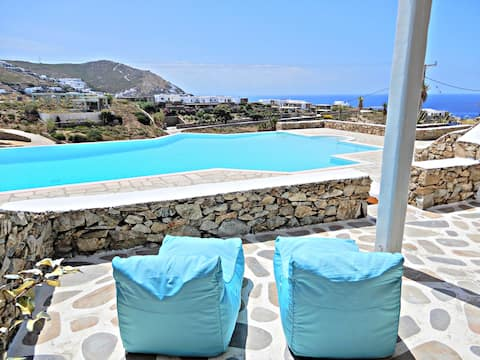 Cavo Blue Two bedroom Villa with shared pool