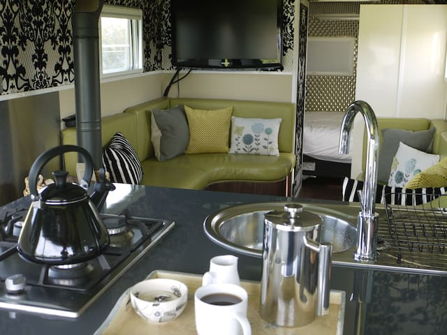 Luxuary Airstream Caravan Close to Jurassic Coast - Wareham