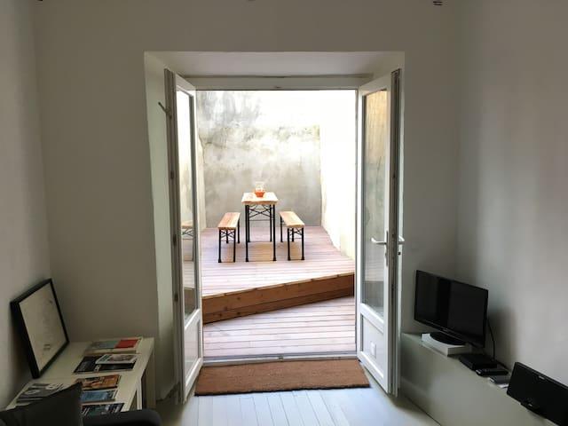 Petit Loft douillet avec Patio au coeur du Panier - Marsiglia - Loft