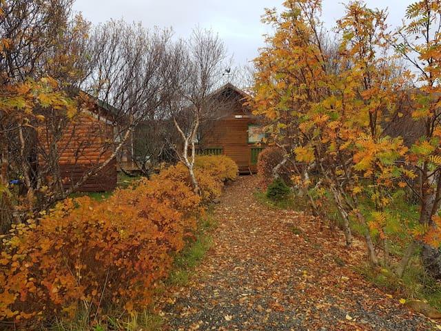 Cozy family cabin in peaceful area in Skorradalur