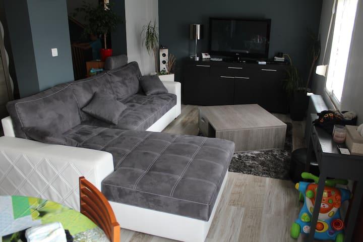 location semaine  au calme - Conflans-en-Jarnisy - Haus