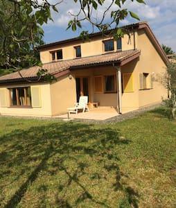 Maison Lombez- Gers 90m2 6personnes - Lombez