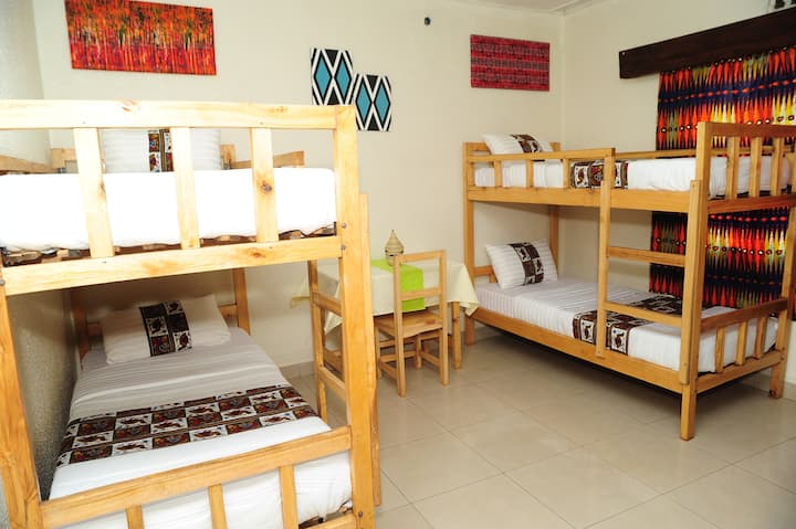 AKAGERA ROOM (Double decks/ bunk beds)