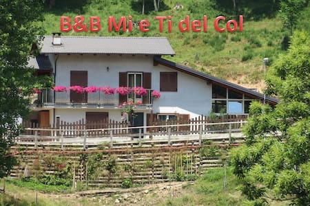 B&B Mi e Ti del Col - Isasca - Bed & Breakfast