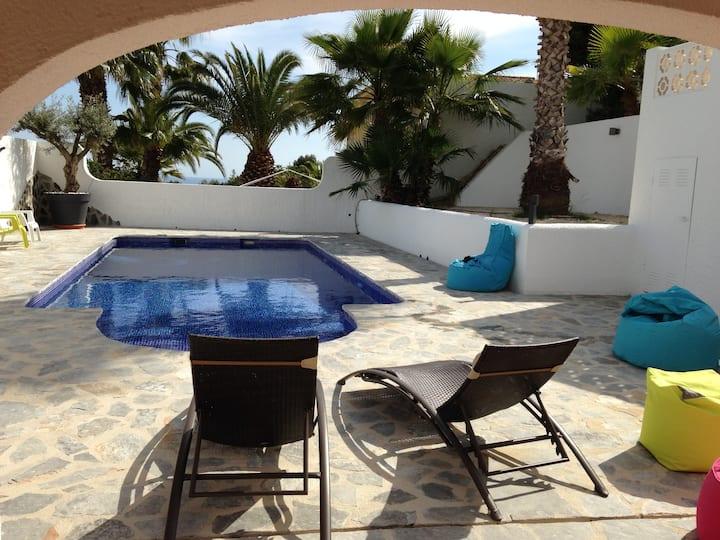 Bienvenue à la Casa Salomé , avec piscine privée.