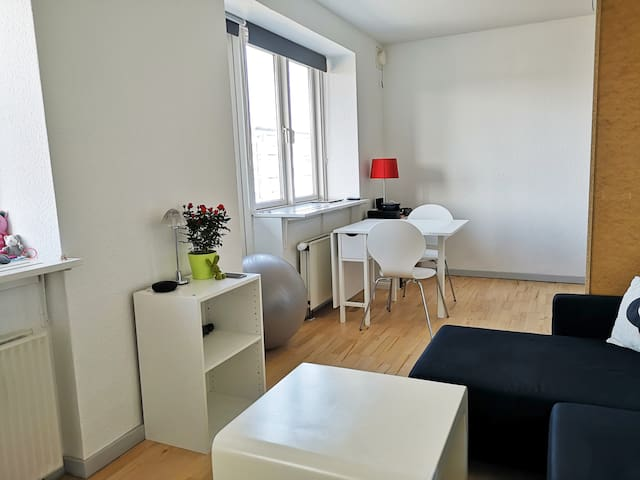 COSY APARTMENT 10MIN FROM CENTRE! TEMPUR KING BED!