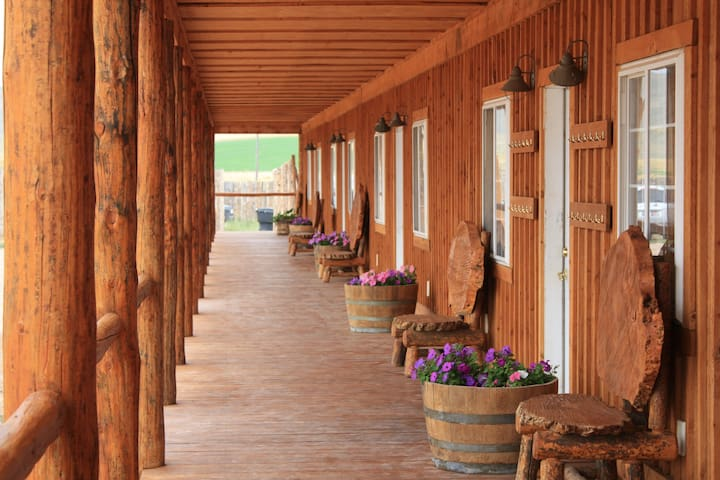 Dot Bar Ranch - Randolph - Dortoir