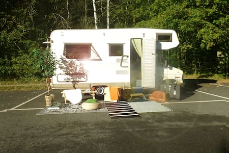 Camping with Sweden On Wheels - Hässleholm - Trailer