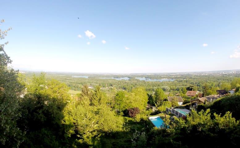 Appartement 90m2 avec Vue Panoramique - Neyron - Leilighet