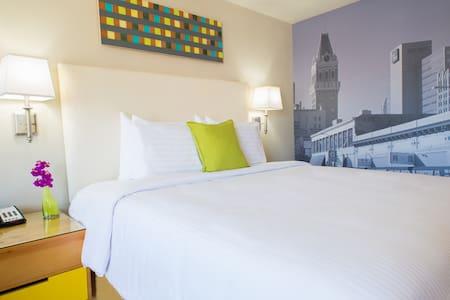 All new, locally inspired room - โอ๊คแลนด์ - ที่พักพร้อมอาหารเช้า