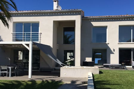 Villa contemporaine + piscine - Ajaccio