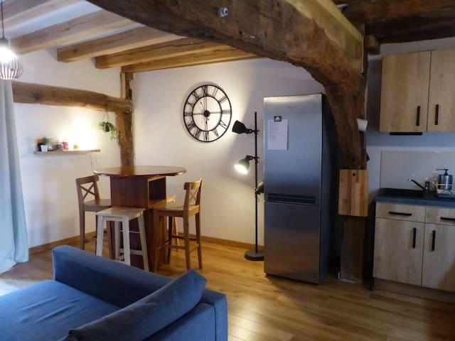 la chambre d'Éloi (appartement à Saint Aignan)