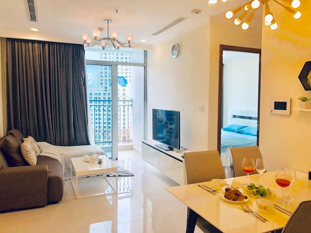 Luxury Apt 1Br,Vinhomes Central Park,Jacob's homes