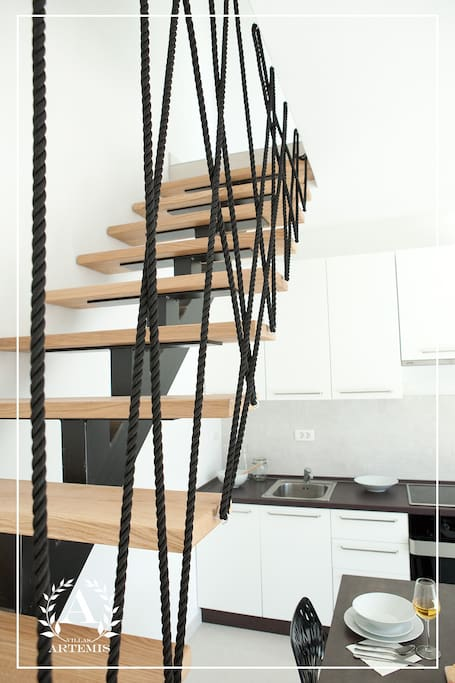 Stepenište za gornji kat