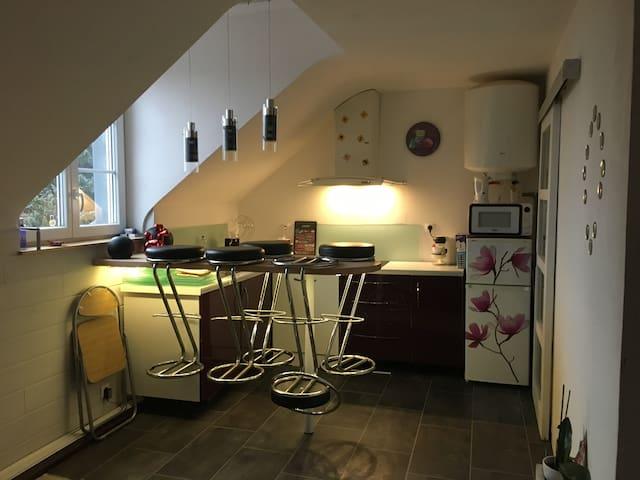 Appartement douillet avec petit déjeuner - Vesoul - Leilighet