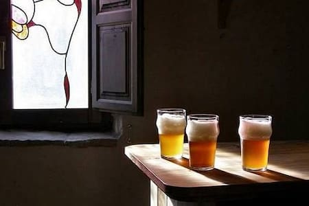 Casa Rural Cervecera Les Canyes - Pontons - Rumah