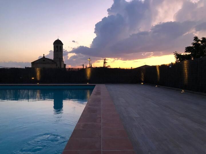 Belle étude piscine partagée, Tarragona