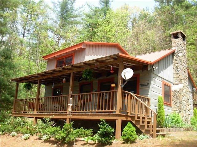 Spoon Rest Cabin Near Blue Ridge Parkway - Fleetwood - Hytte