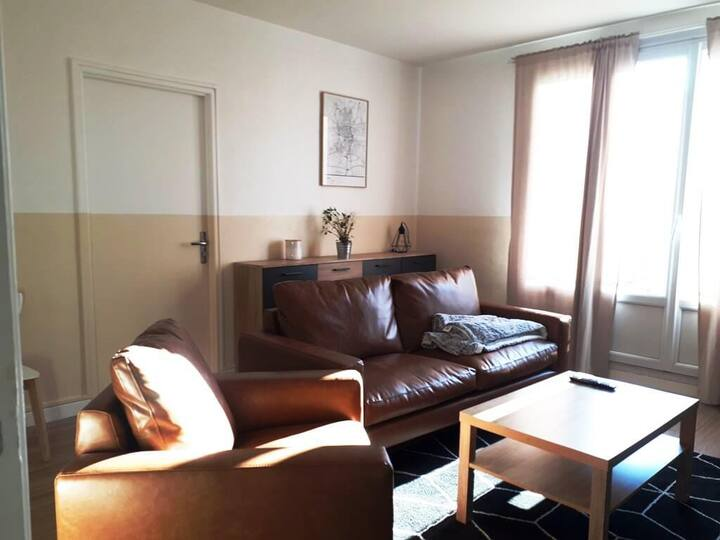 Appartement avec vue sur le Parc Grandmont