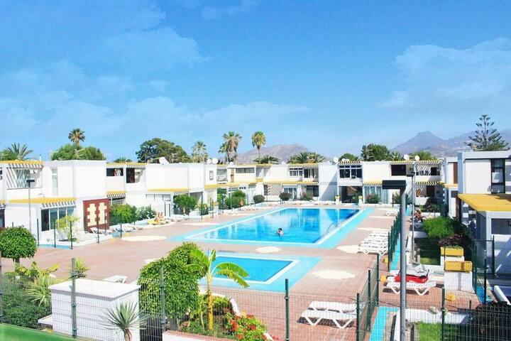 Playa Silencio Swimming pool Piscina Arona 2