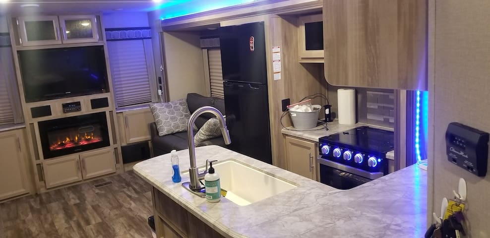 Enjoy your stay at a Luxury RV