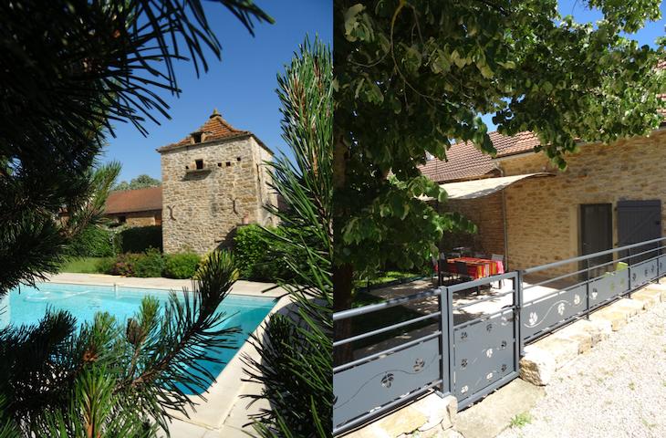Gîte de charme à la ferme (climatisé, piscine)