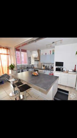Appartement 84m4 style scandinave très accueillant - Angoulême - Apartamento