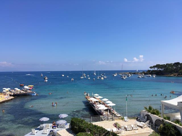 Pieds dans l eau direct sur la mer - Antibes - Appartement