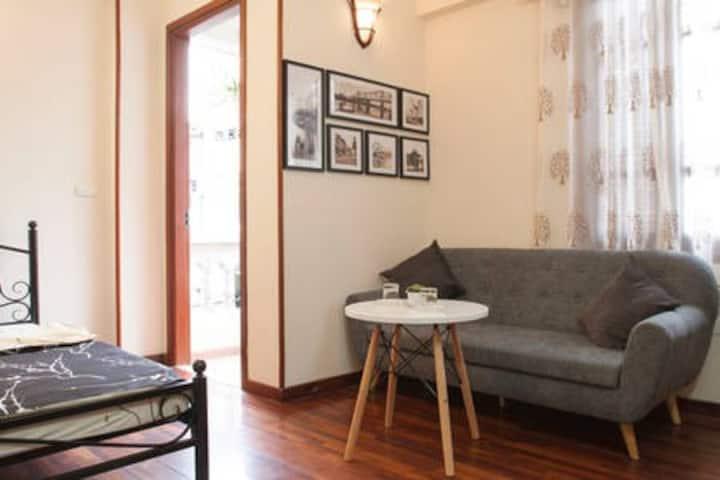 1-Soft Cozy Apartment in HaNoi Old 河内中心套房